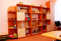 Room for therapy after the method Montessory